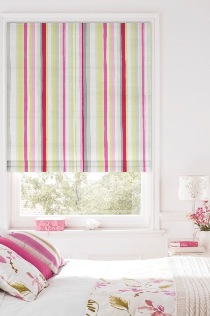 Our Grace Summer Roman Blind Is A Gorgeous Choice For Your Window