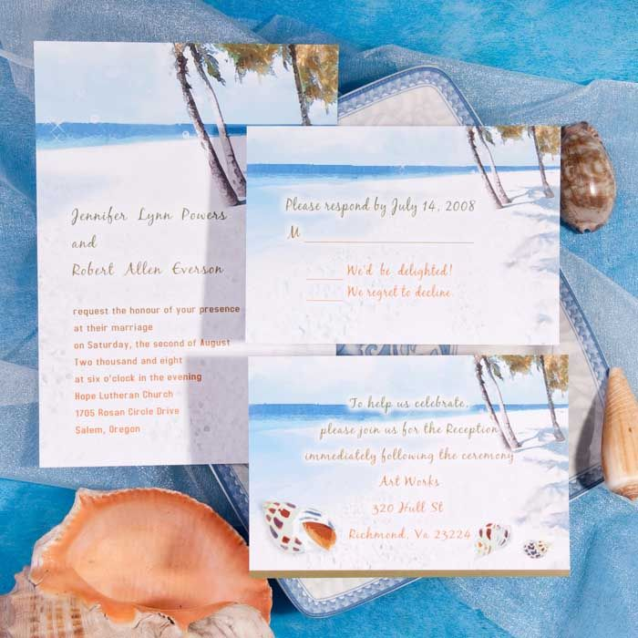 1000 images about Beach Wedding Invitations – Beach Wedding Invitations
