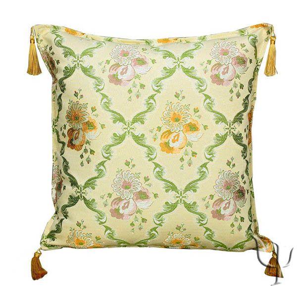 Ottoman Royal Pillow - Flowers Medallion