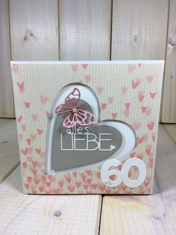 Https Www Lieblingskarten Com Romantisches Set Zum 60 Geburtstag