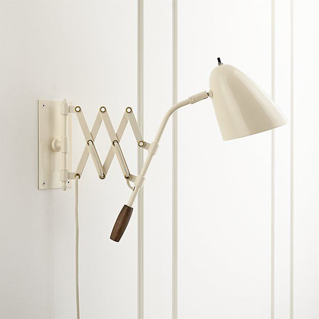 Morgan Ivory Sconce Crate And Barrel