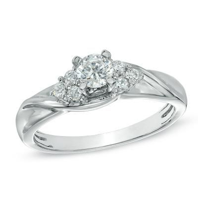 All Zales Engagement Rings With Birthstone 9