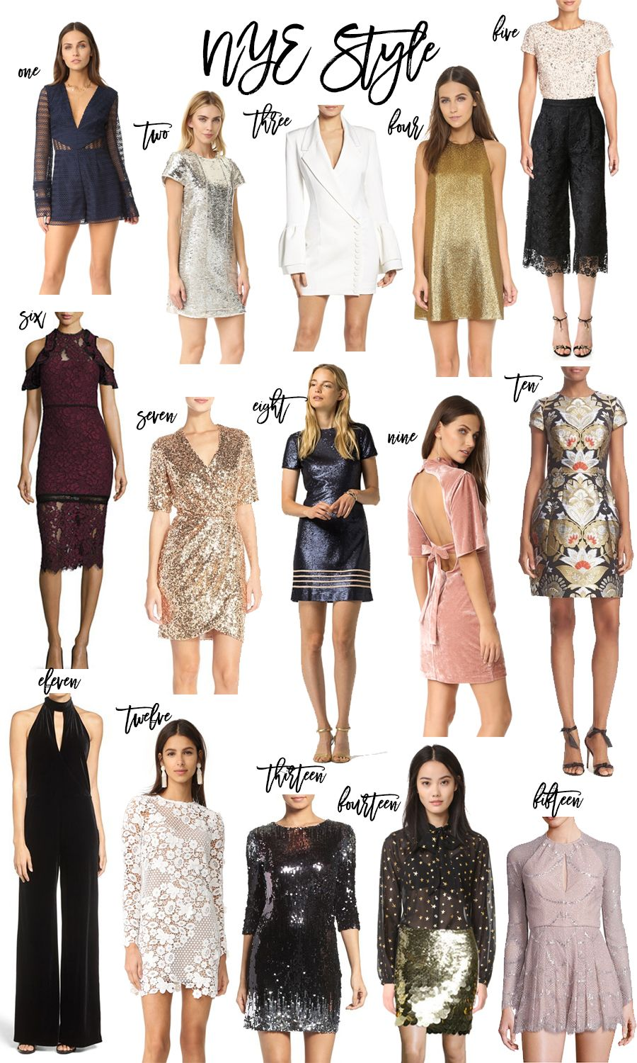 15 Fabulous NYE Outfits | Nye outfits, Edgy outfits ...
