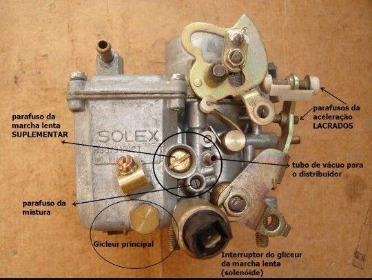 carburador solex h30 h31 fusca 1600 vw detail pinterest vw rh pinterest com Como Carburar Un Carburador Como Carburar Un Carburador