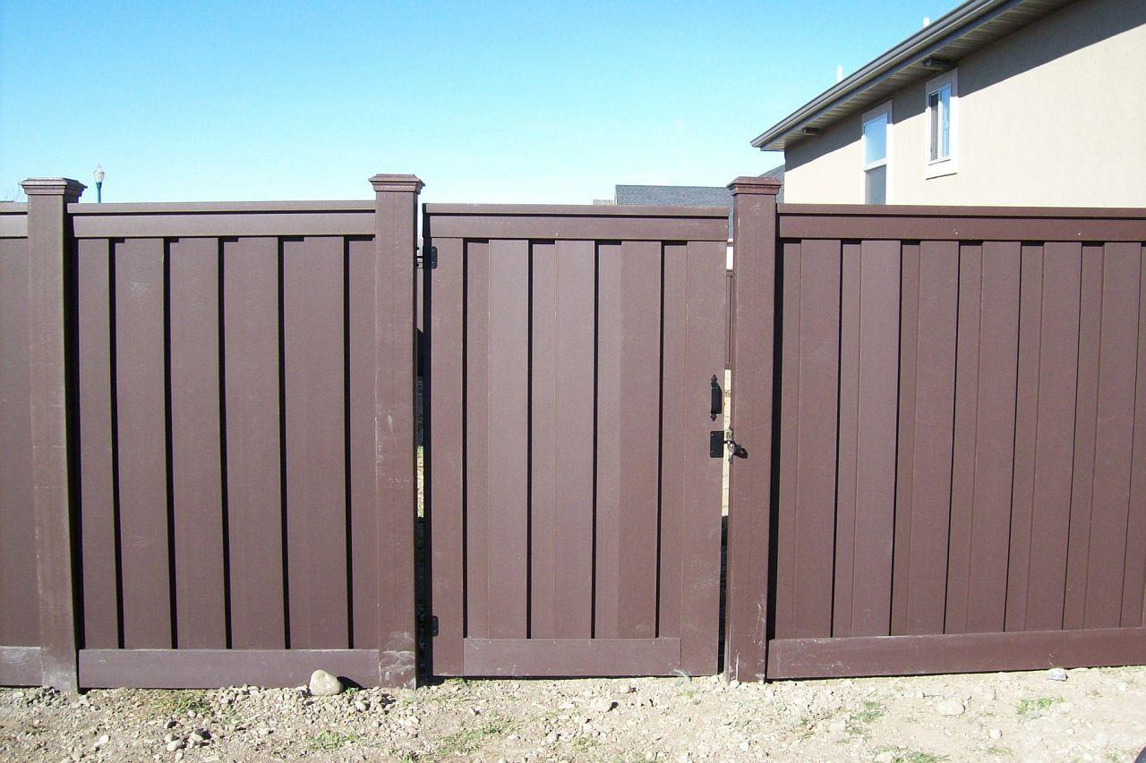 fence gate design. Contemporary Fence Gate Design Featuring Dark Gray . F