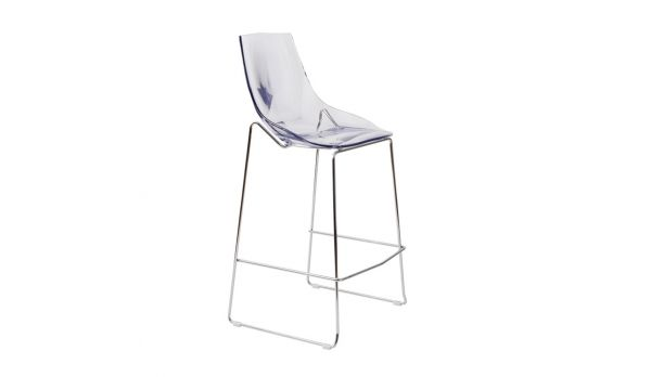 Tabouret De Bar Design Diamante Assise Acrylique Transparent X 4 Ghost Chair Home Decor Decor