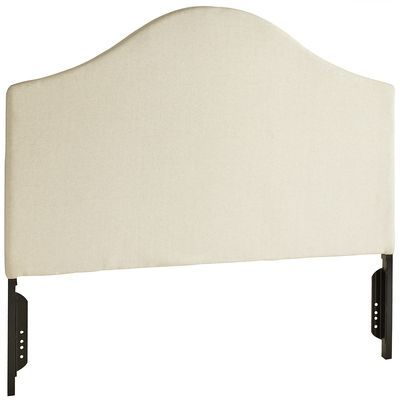 Mia Headboard From Pier1 Beautiful Linen Tailored That Spans