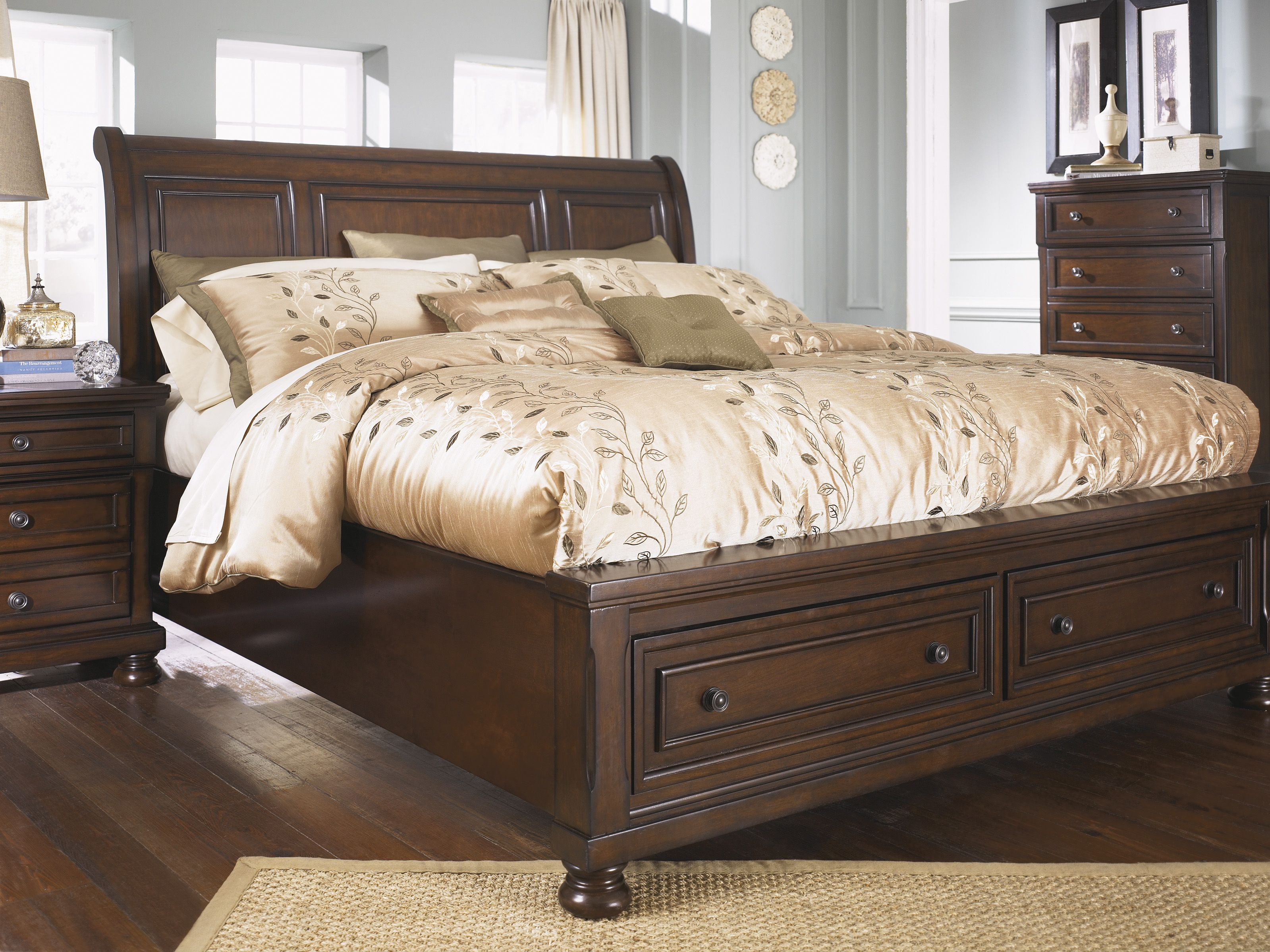 King Size Bed Frame Ashley Furniture Modrox