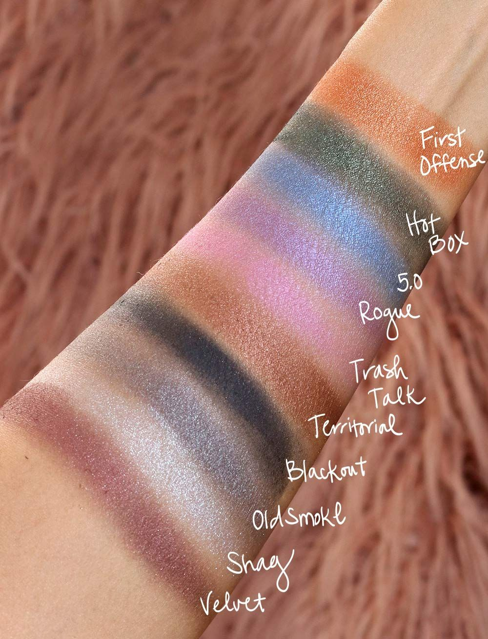 urban decay distortion eyeshadow palette bea u ty mus in 2018