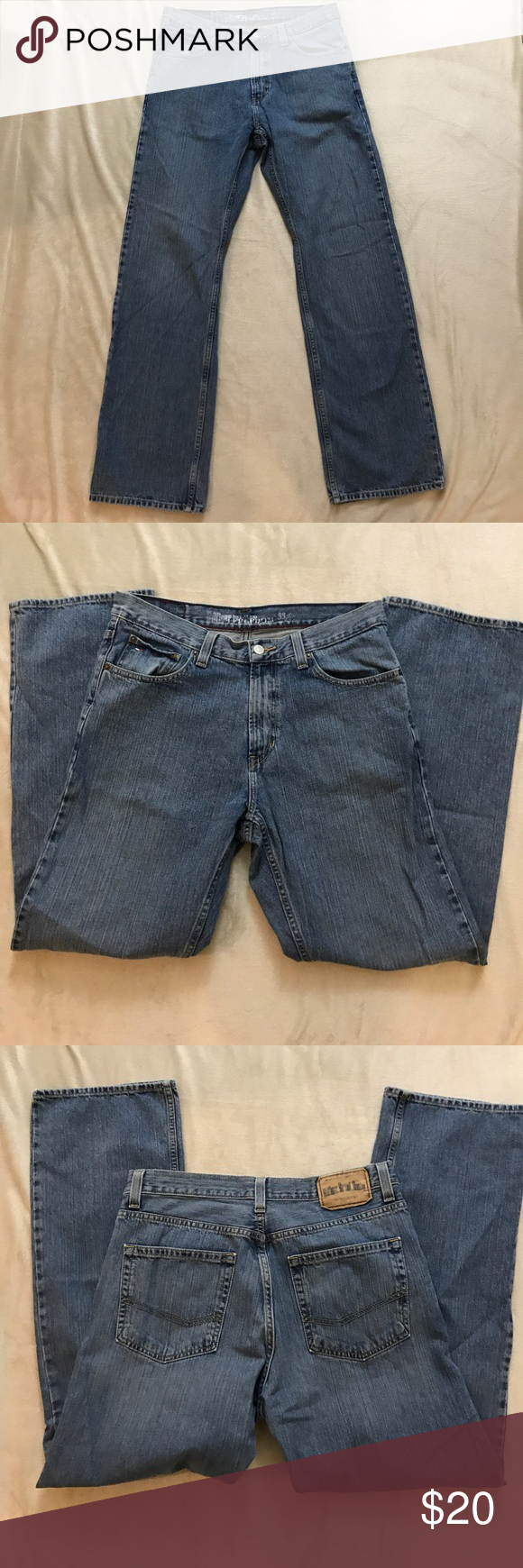 Tommy Hilfiger Relaxed Freedom Jeans 33x32 In great condition Tommy Hilfiger Jeans Relaxed
