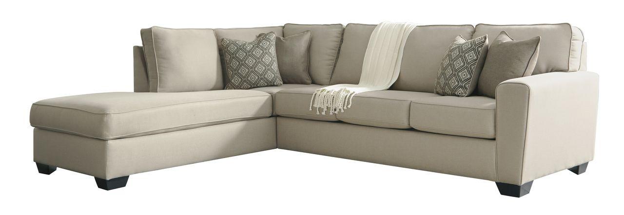 Calicho Ecru Left Arm Facing Corner Chaise Sectional Ashley 9120316 9120367 Sectional Sofa Couch Sectional Sofa Furniture