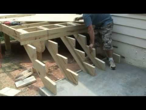 How To Build A Deck 5 Stairs Steps When Building