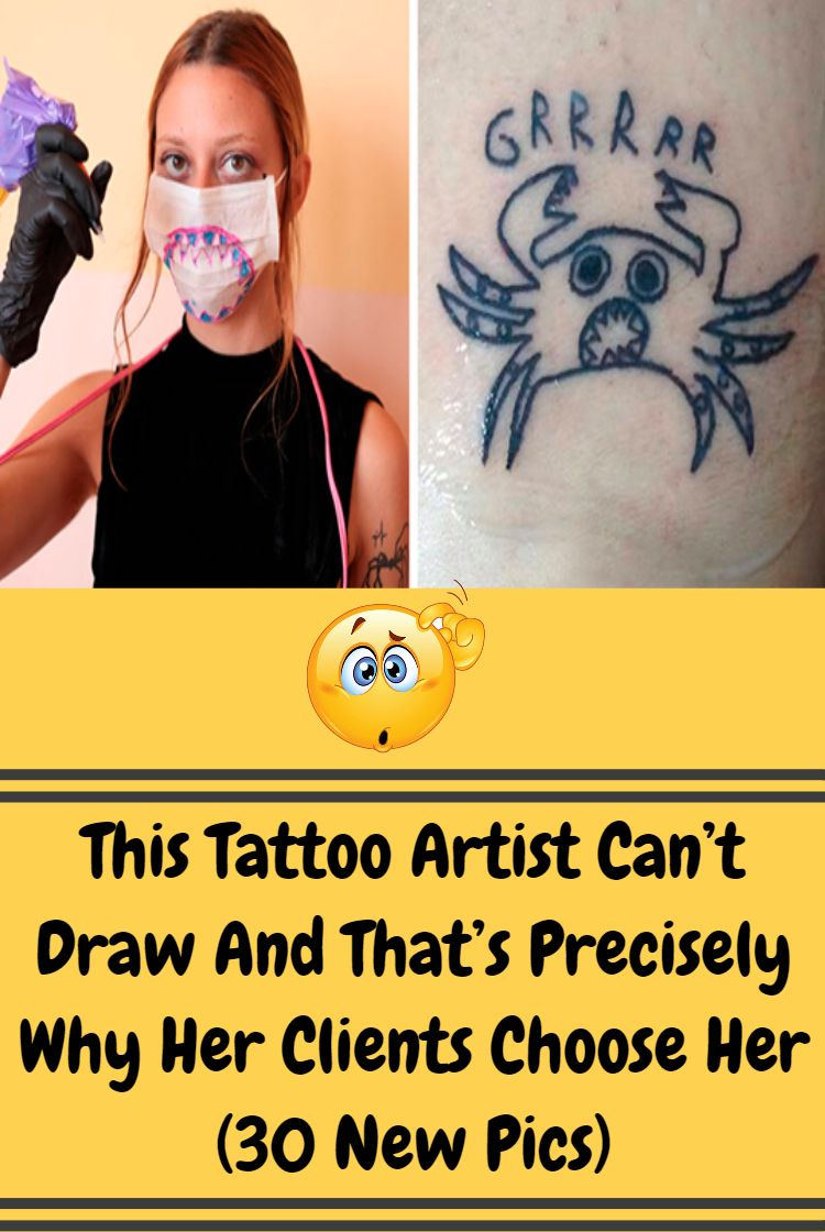 26d5b413e This Tattoo Artist Can't Draw And That's Precisely Why Her Clients Choose  Her (