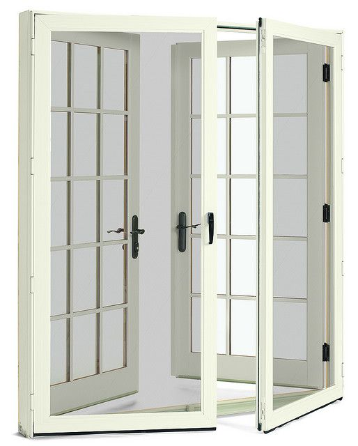 Wood French Doors With Screen Doors J Amp A In 2019 French
