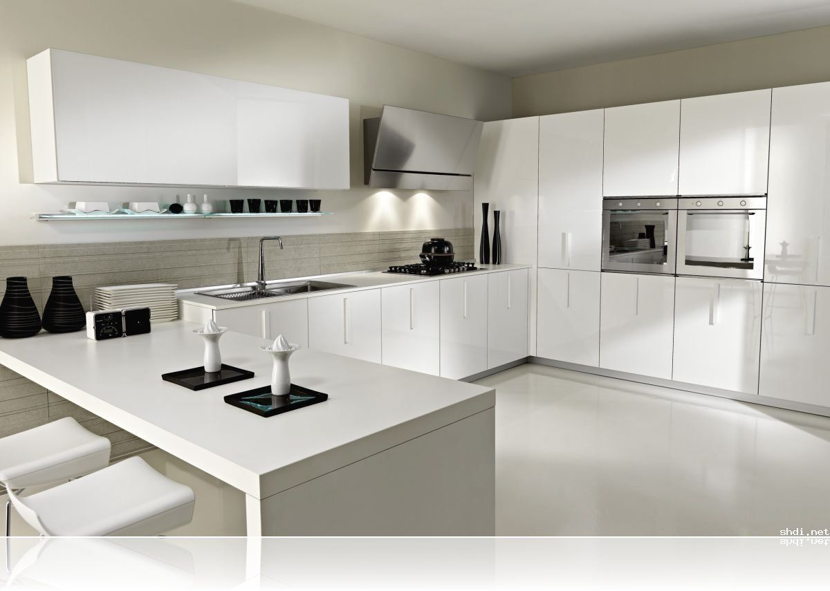 nice Designer White Kitchens Pictures #10: Amazing Modern White Kitchen Design Ideas Zitzatcom - White kitchen designs