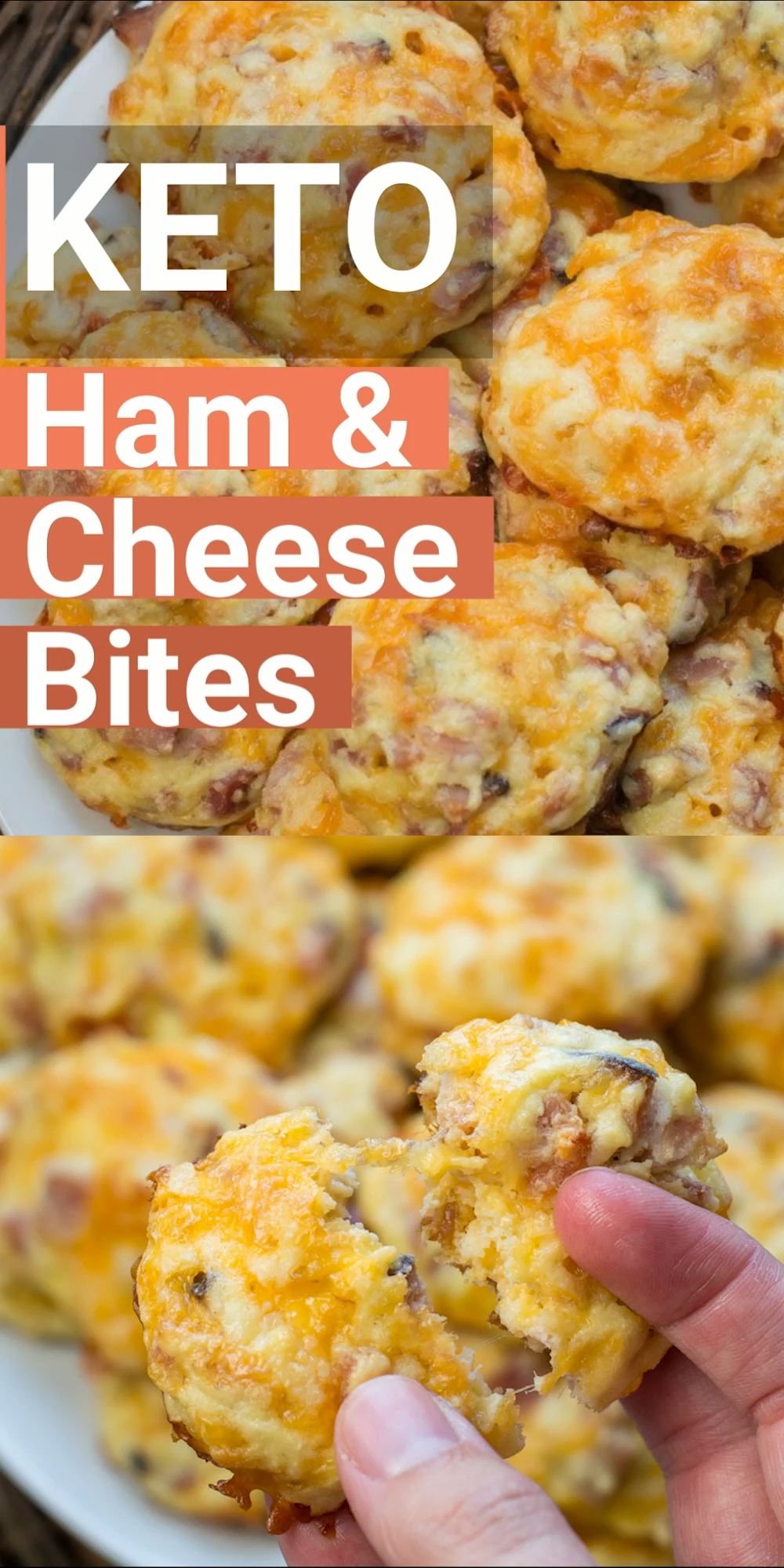 Photo of Keto Ham and Cheese Bites (low carb meal prep)