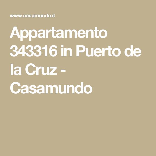Appartamento 343316 in Puerto de la Cruz - Casamundo