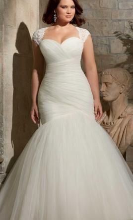 Mori Lee Julieta 3176 Wedding Dress New Size 26 625 Plus