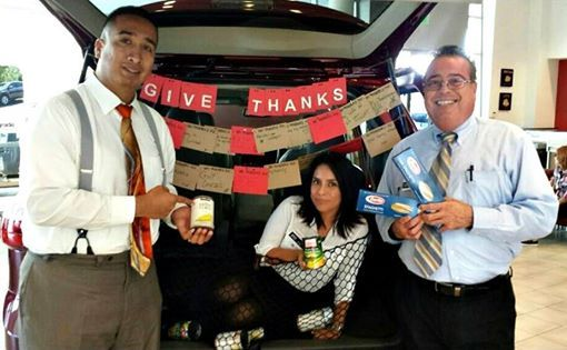 Help Us Donate Canned Goods To The North County Food Bank Toyotacarlsbad Used Toyota Carlsbad Toyota Dealers