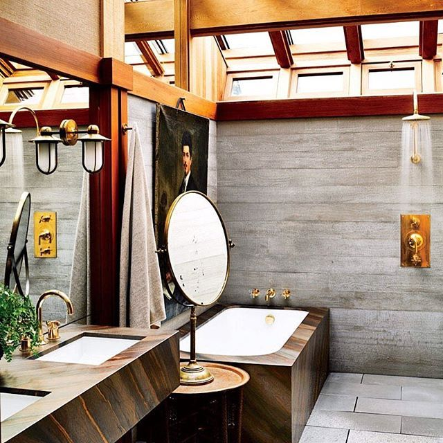 California dreaming...light floods @kenfulk's #SanFrancisco master bath, beautifully appointed with our Henry fittings. Photo by @thefacinator via @archdigest. #ThePerfectBath