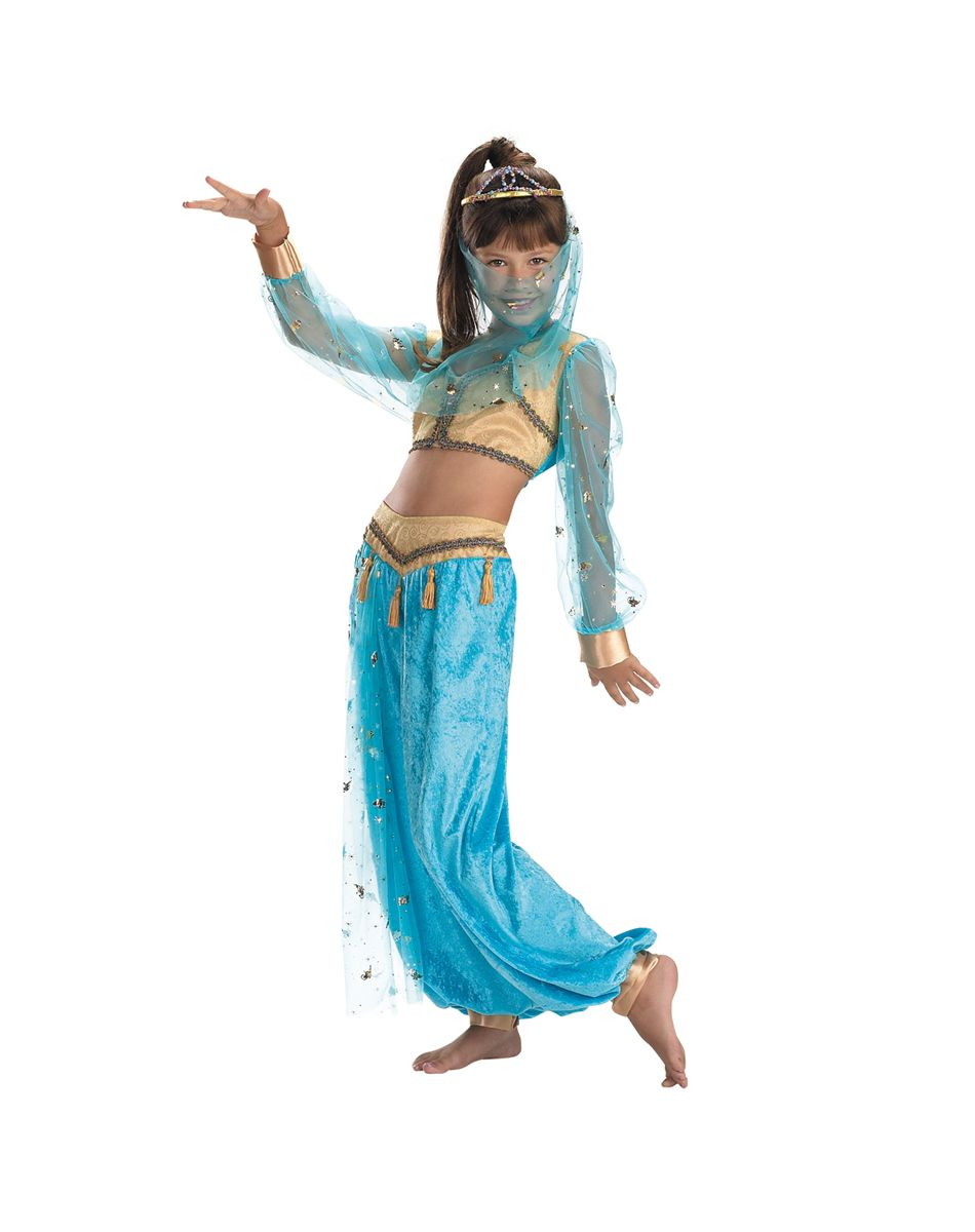 Genie halloween costumes for girls-8980