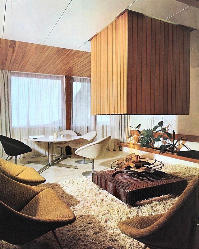#PierreGuariche interior design #pierrepaulin La Plagne ...