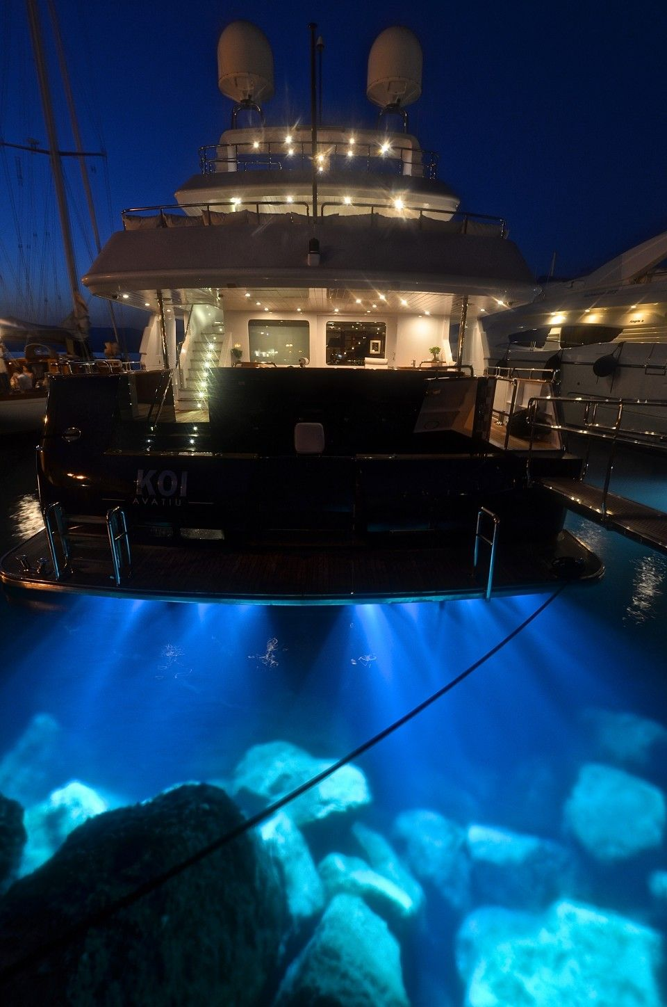 Luxury Yacht Engine Room: Koi - Yacht Charter - Mcmullen & Wing
