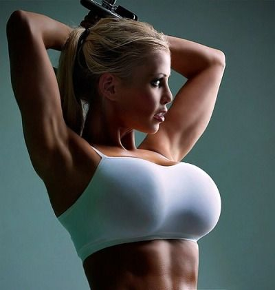 fitness model big boobs