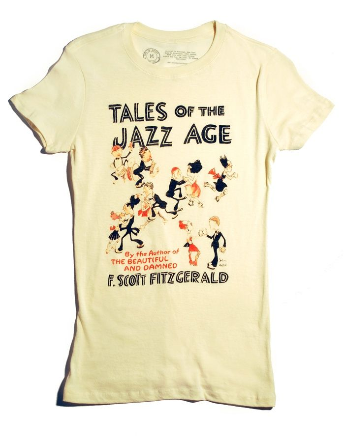 Tales of the Jazz Age book cover t-shirt | Outofprintclothing.com