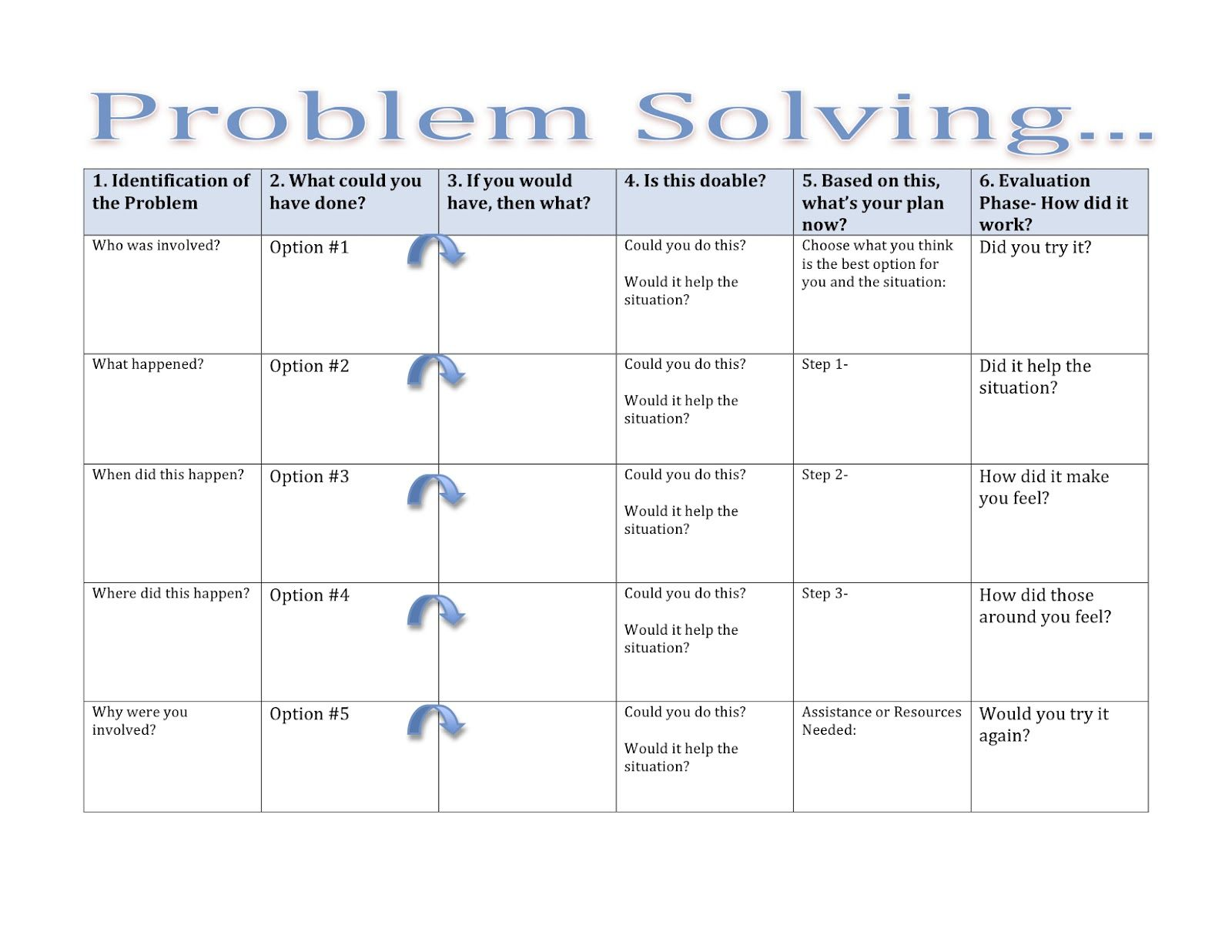 problem solving exercise