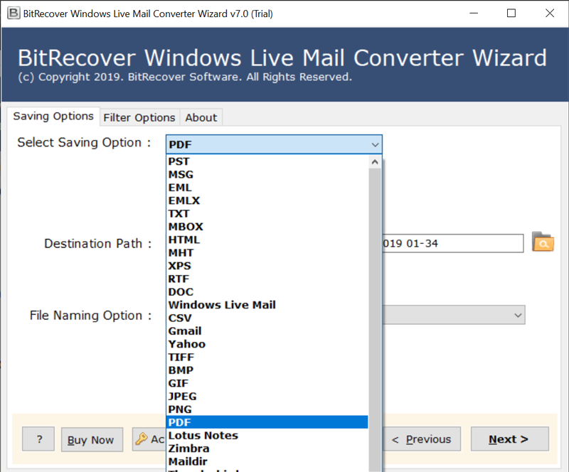 BitRecover Windows Live Mail Converter Wizard Updated with
