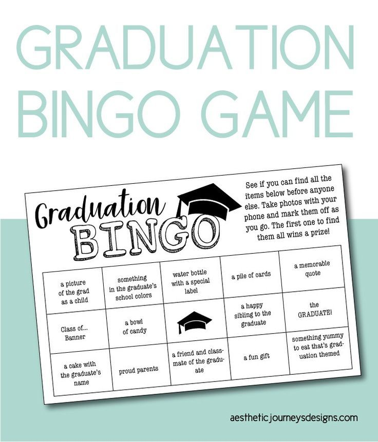 Graduation Party Ideas: 50 Free Printable Designs to Complete Your Party #graduationparties