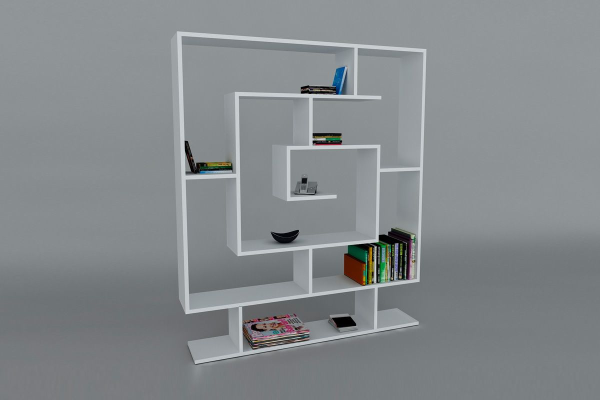 Vente Wooden Art 22929 Biblioth Ques Biblioth Que Sarmasik  # Bibliotheque Meuble Tv Ordinateur