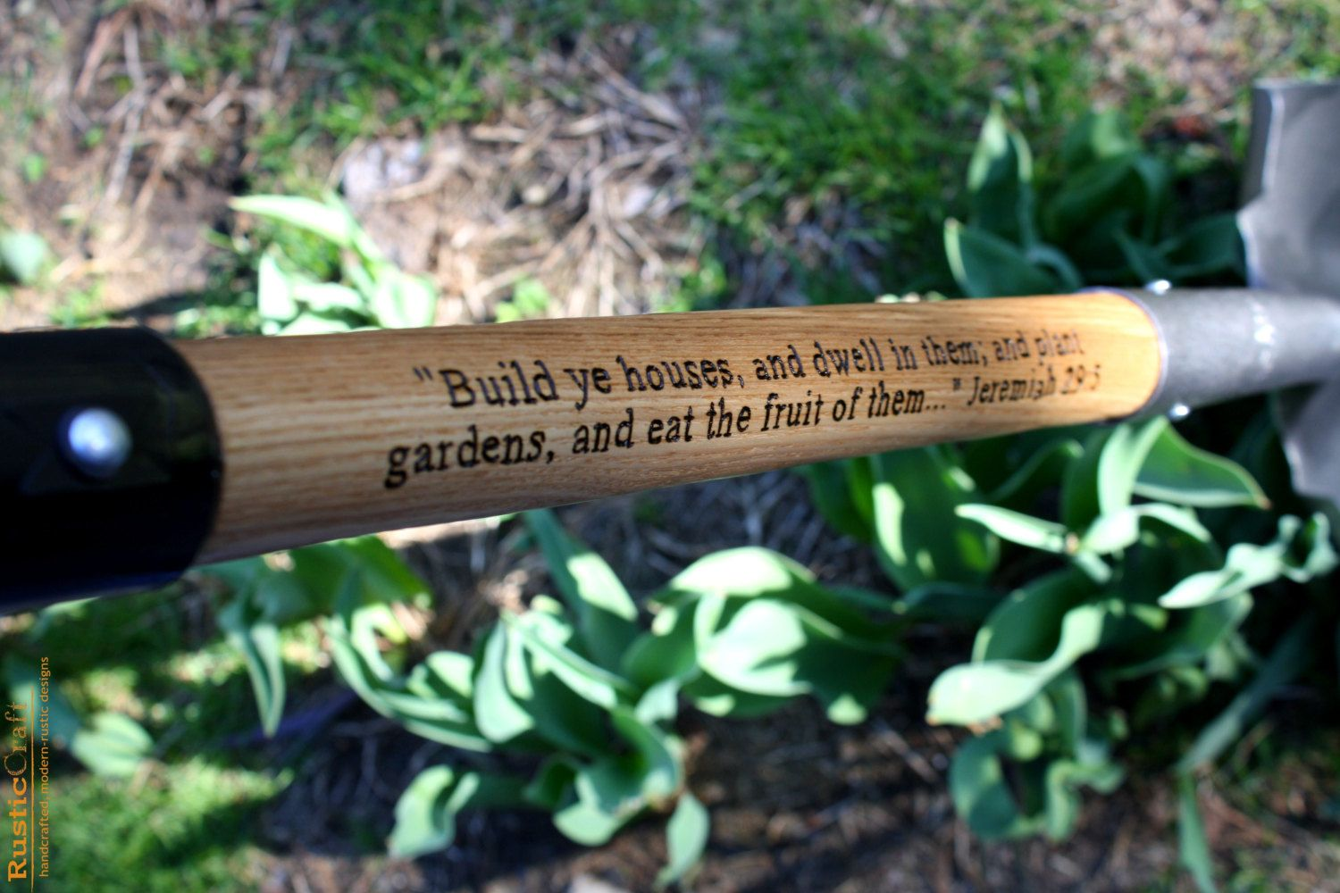 Personalized Garden Shovel   Ceremonial Shovel   Gardener Gift   Hand  Engraved Custom Designed. $60.00