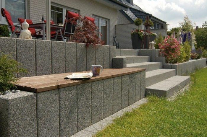 Photo of Genießen Sie eine moderne Gartengestaltung mit Palisaden      Step by step: red…