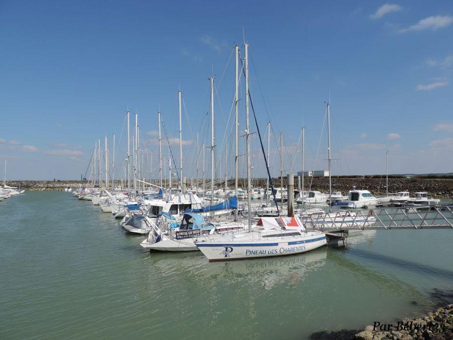 Port La Brée les Bains. L'Ile d'Oléron, Charente-Maritime - Dept 17.