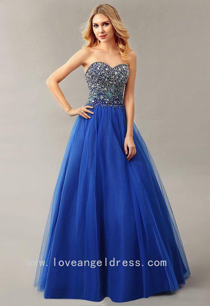 royal blue prom dresses - 683×1024