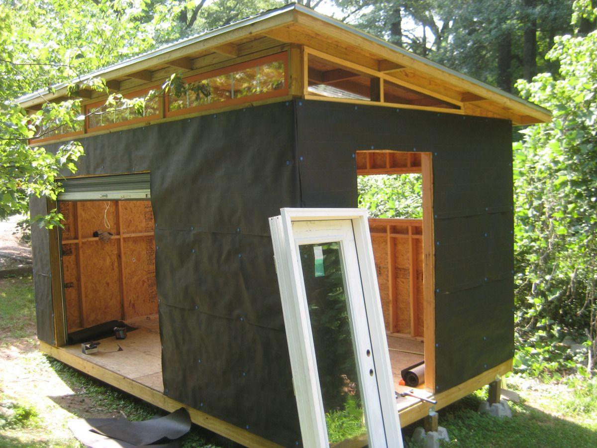 DIY Modern Shed project Modern shed, Shed design