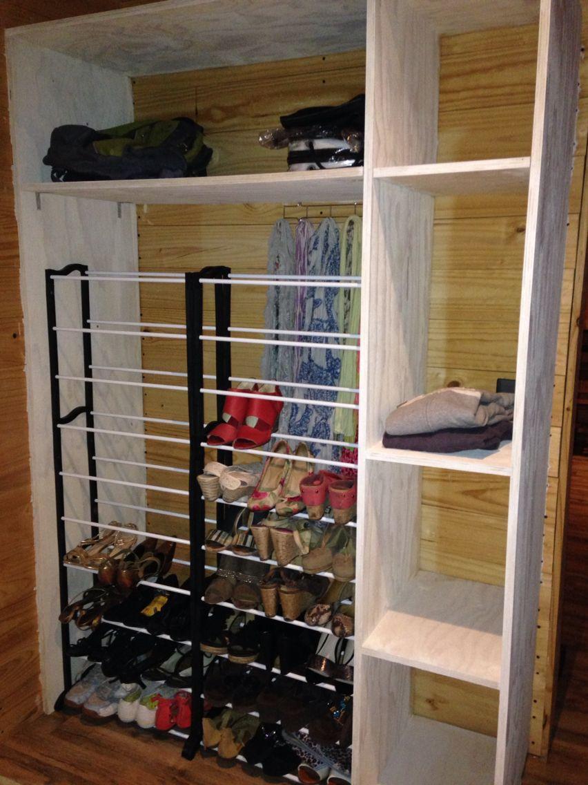 Otro homemade #closet de @Nicolewildk y @Jampu21.