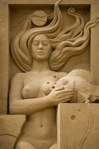 Sandsation '08: Composition On Nature - Ala, Goddess Of All Living Things Detail | Flickr - Photo Sharing!