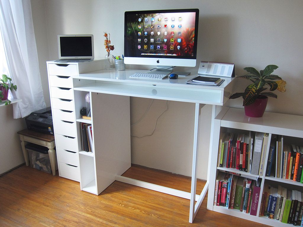 home office standing desk. Witching Design Ideas Of Home Office Standing Desk. Entrancing Desk Features White Color And Wooden Computer E
