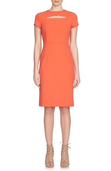 1.STATE Short Sleeve Sheath Dress available at #Nordstrom