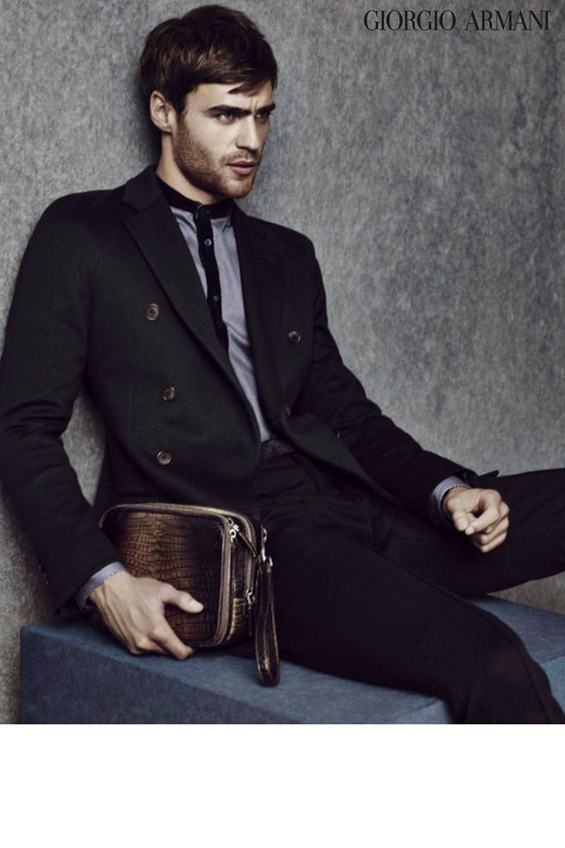 32041af36a6 Giorgio Armani Fall Winter 2014. See all the best fashion campaigns here.