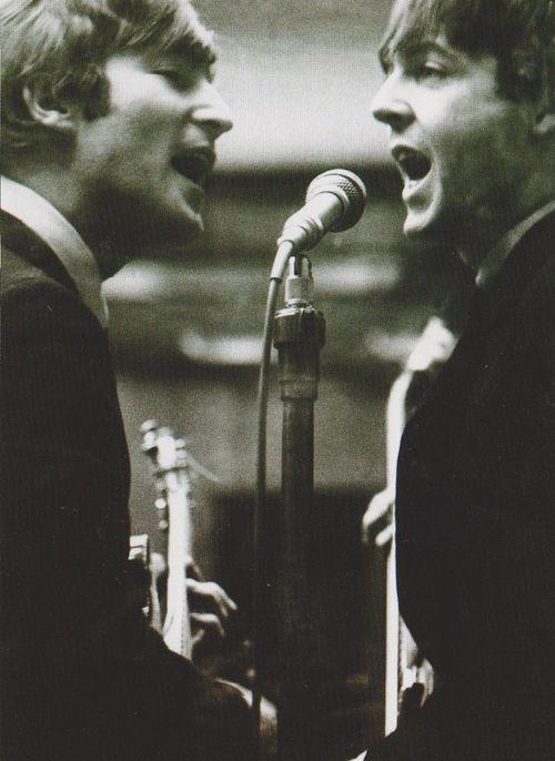 John & Paul | via Beatle Love ~ Cityhaüs Design