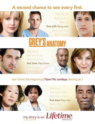 Season 2 Poster Grey S Anatomy Series Y Coditos
