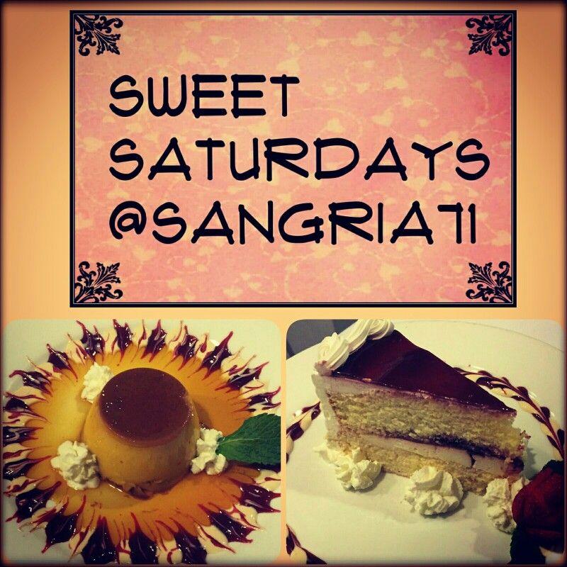 #sweetsaturday #postre #flan #tresleches #sangria71 #hillsideave #willistonpark #longisland
