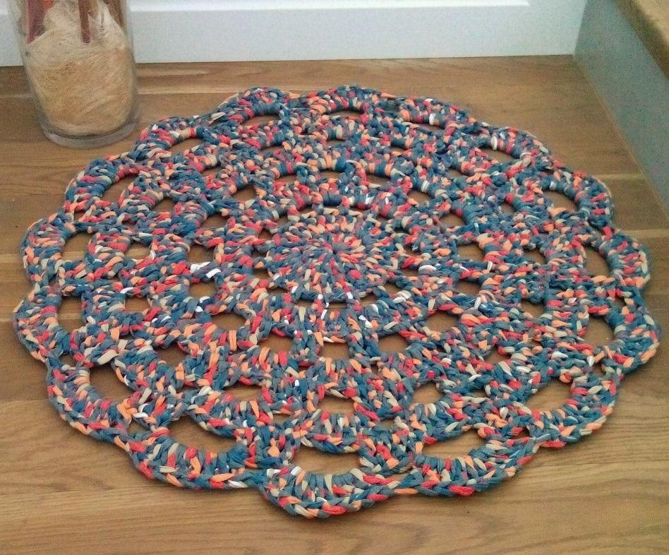 Tapis En Crochet #12: Pinterest