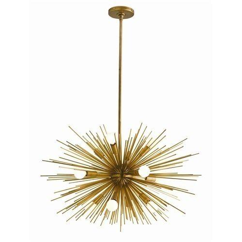 42f571ce14246 brass starburst ceiling light