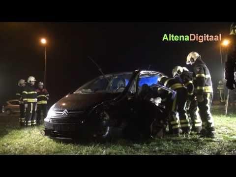 Zwaargewonde bij ongeluk in Werkendam