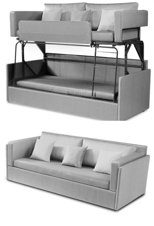 The Dormire Bunk Bed Couch Transformer 2020 部屋